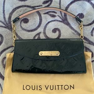 Louis Vuitton Sunset Boulevard clutch In BLUE